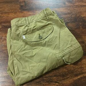 LEVI'S Classic Fit Casual Beige Cargo Shorts Men's